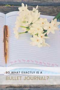 So what exactly is a Bullet Journal?