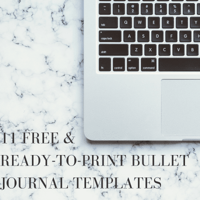 11 Free Bullet Journal Printables To Save You Time
