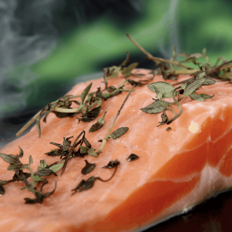 Salmon | Fall Foods for Healthy Skin | Wildflowers and Wanderlust