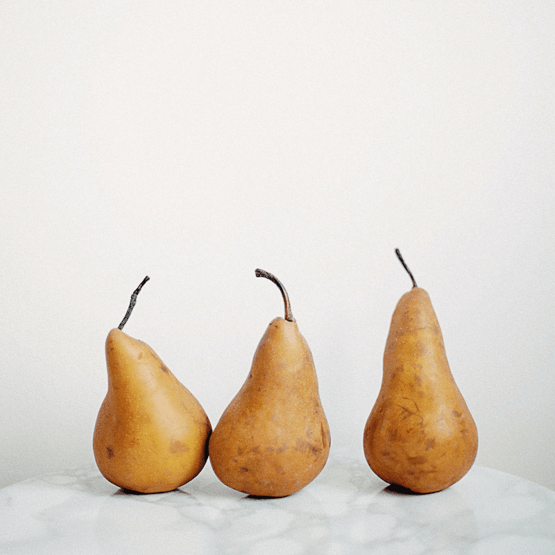 Pears | Fall Foods for Healthy Skin | Wildflowers and Wanderlust