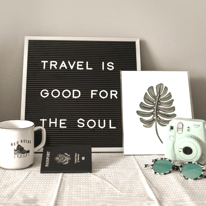 Travel is Good for the Soul | Wildflower and Wanderlust