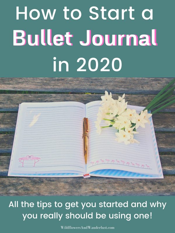 Here are some great tips to help you get your bullet journal started this year and use it to magnify your time!  WildflowersAndWanderlust.com