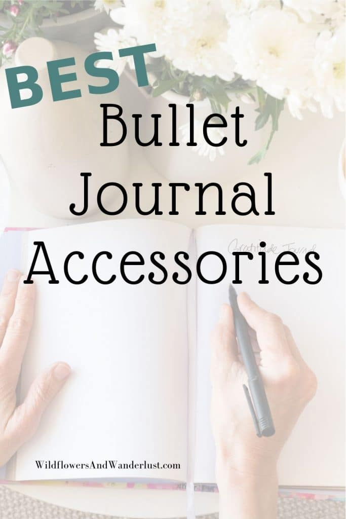Here are the bullet journal accessories that you're going to want for yourself but they also make great gifts for your bujo friends  WildflowersAndWanderlust.com