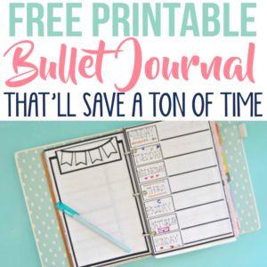 Free Bullet Journal Printable