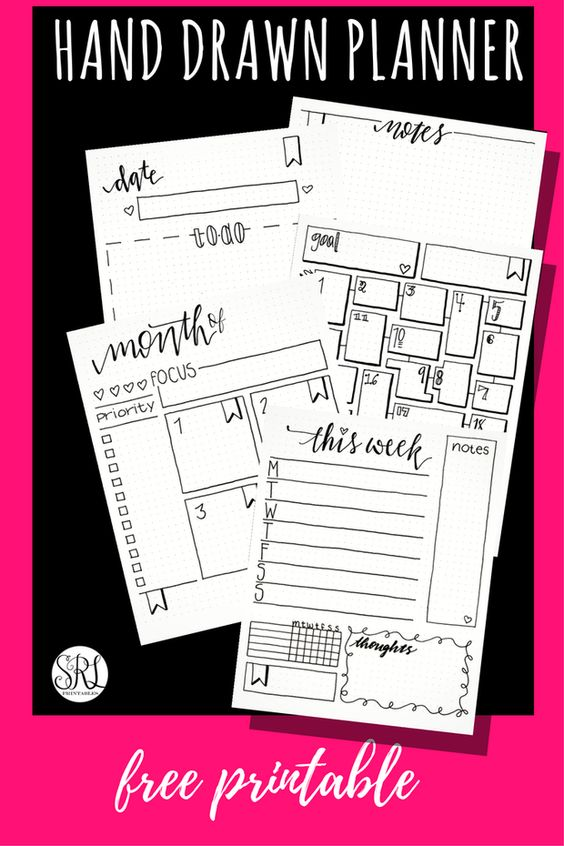 image regarding Bullet Journal Pages Printable referred to as 11 Cost-free Bullet Magazine Printables In the direction of Conserve By yourself Season