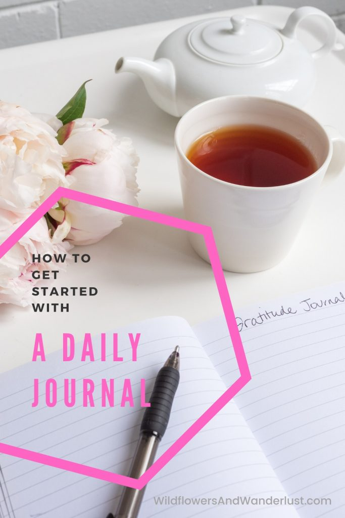 There are lots of benefits to starting a daily journal and we can help you get this habit started.  WildflowersAndWanderlust.com