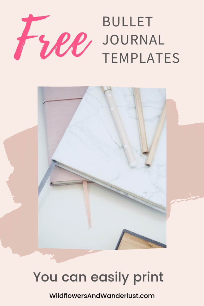Whether you're just getting started with a bullet journal or you're just looking for a special tracker we've got a great list of printable planning pages that you can download for free. Make an entire bullet journal by printing it at home! WildflowersAndWanderlust.com