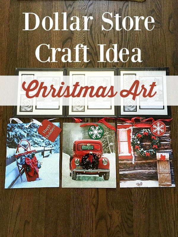 Christmas Art Wall Hanging by Refresh Restyle