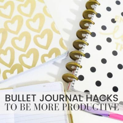Bullet Journal Hacks To Make Your Planner Insanely Productive