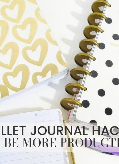 Bujo Journal Hacks that will make you more productive | WildlfowersAndWanderlust.com