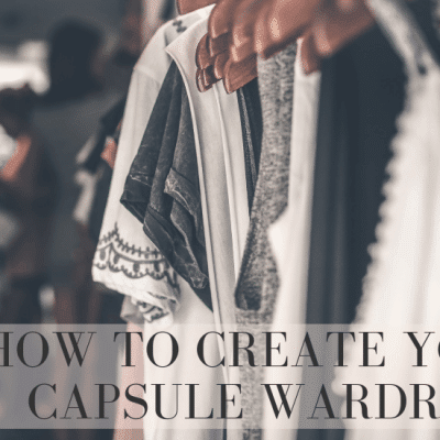 How to Start a Capsule Wardrobe This Weekend