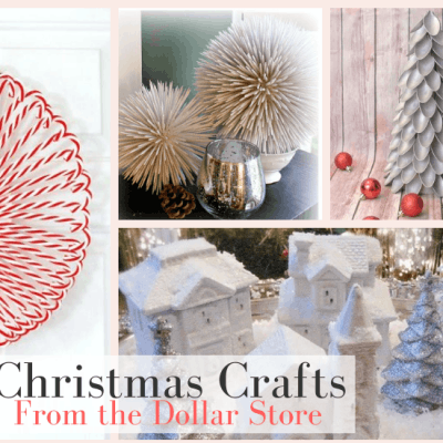 10 DIY Christmas Crafts from the Dollar Store That Look Amazing