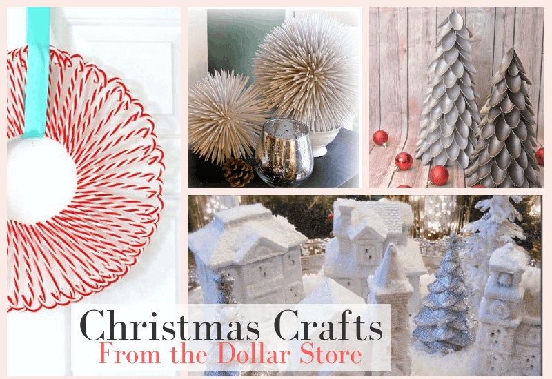 Christmas Crafts You Can Make From the Dollar Store | WildflowersAndWanderlust.com