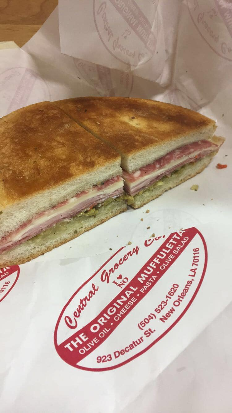 Muffaletta | Best of French Quarter | WildflowersandWanderlust.com