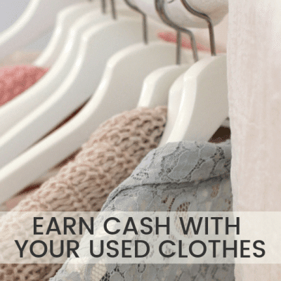 How to Sell Your Used Clothes for Cash