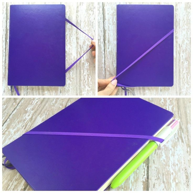 Easy Way to Attach a Pen to Your Bullet Journal Idea from the Official Bullet Journal Blog