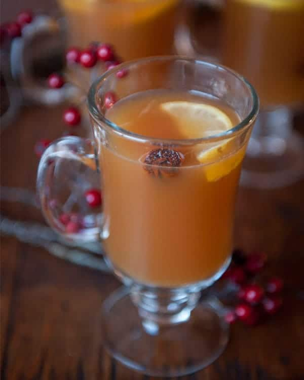 Hot Toddy Cocktails via BluApron Blog featured on WildflowersAndWanderlust.com