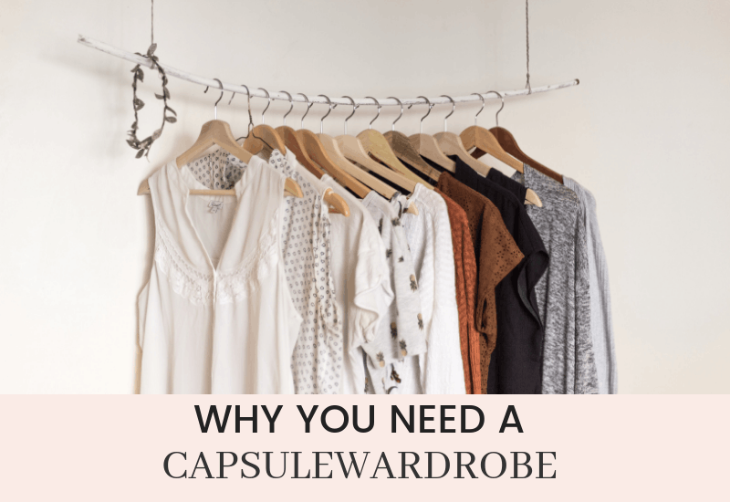 Do you know why you should have a capsule wardrobe?  Let us help you figure it out | WildflowersAndWanderlust.com