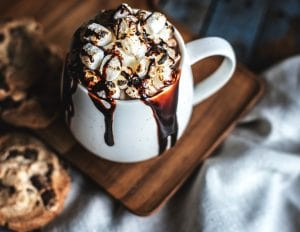 Spiked Hot Cocoa is a fantastic winter drink to warm you up | WildflowersAndWanderlust.com