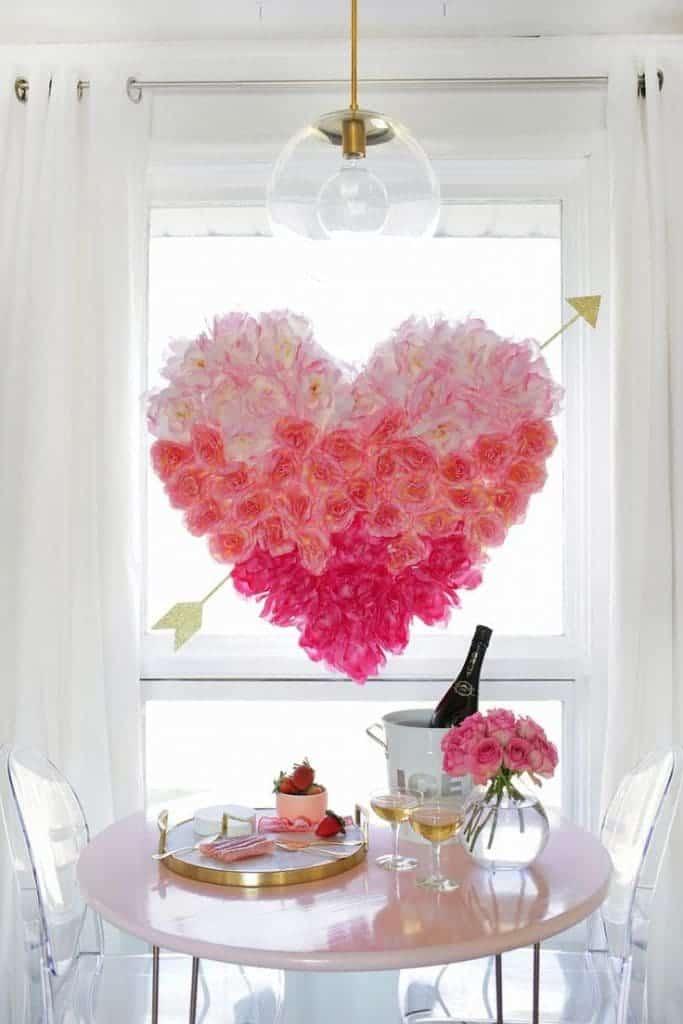 Flower Heart by A Beautiful Mess
