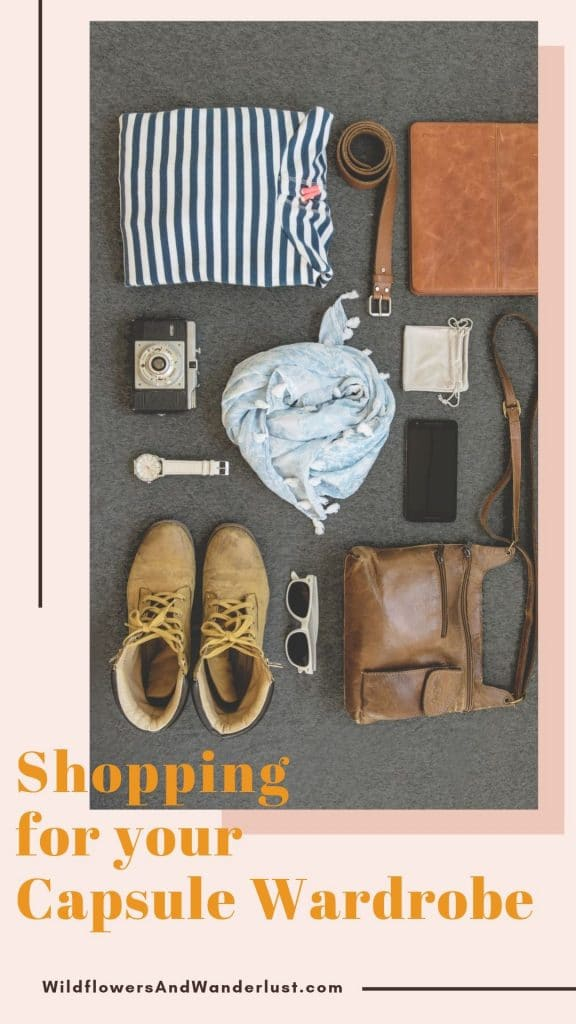 Here are ways to simplify shopping for your capsule wardrobe and make your clothing work hard for you!  WildflowersAndWanderlust.com