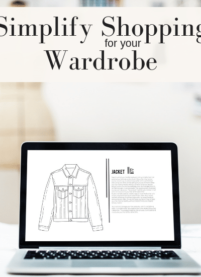 Easy ways to simplify shopping for your wardrobe - capsule wardrobe or regular | WildflowersAndWanderlust.com