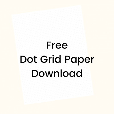Free Printable Dot Grid Paper to Make You More Productive