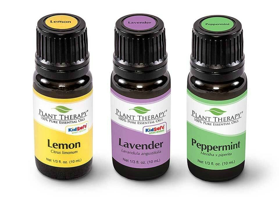 Our favorite blend of essential oils in our diy room spray is lavender, lemon and peppermint. It provides a nice clean scent! WildflowersAndWanderlust.com