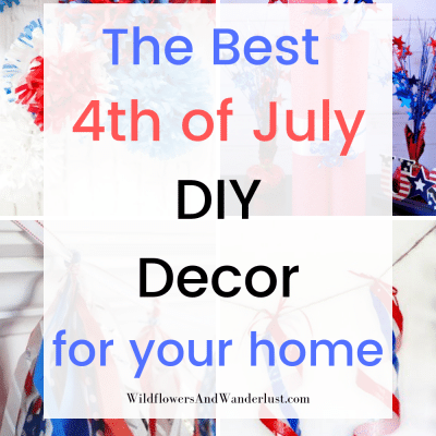 This is Our Favorite Easy Decor for the 4th