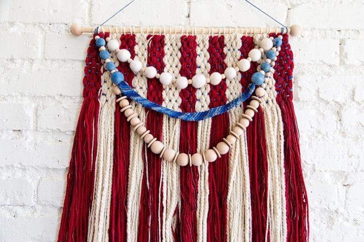 American Flag Weaving