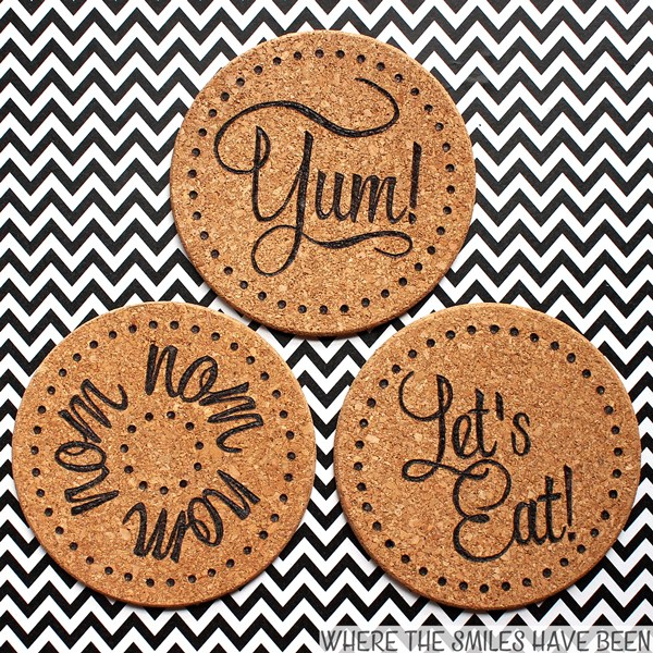 These Ikea Cork Trivets are a great craft project that you can complete and sell for profit WildflowersAndWanderlust.com