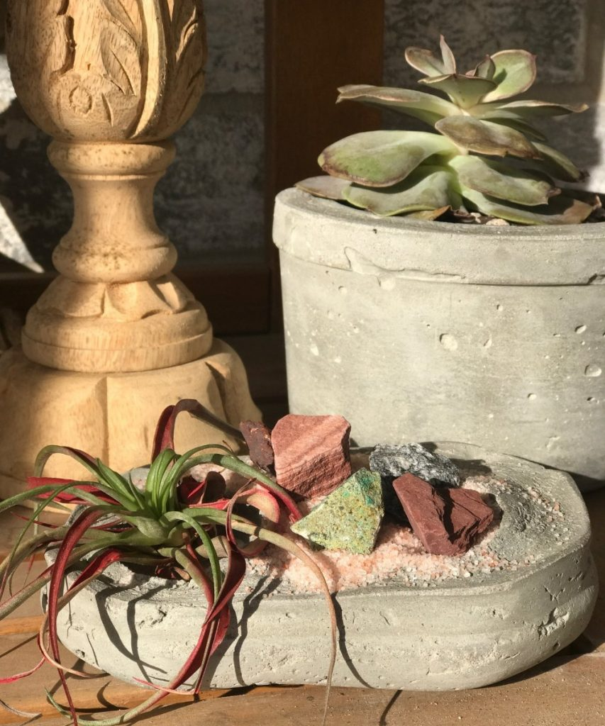 Succulent planters are a craft item that you can make and sell for a profit WildflowersAndWanderlust.com