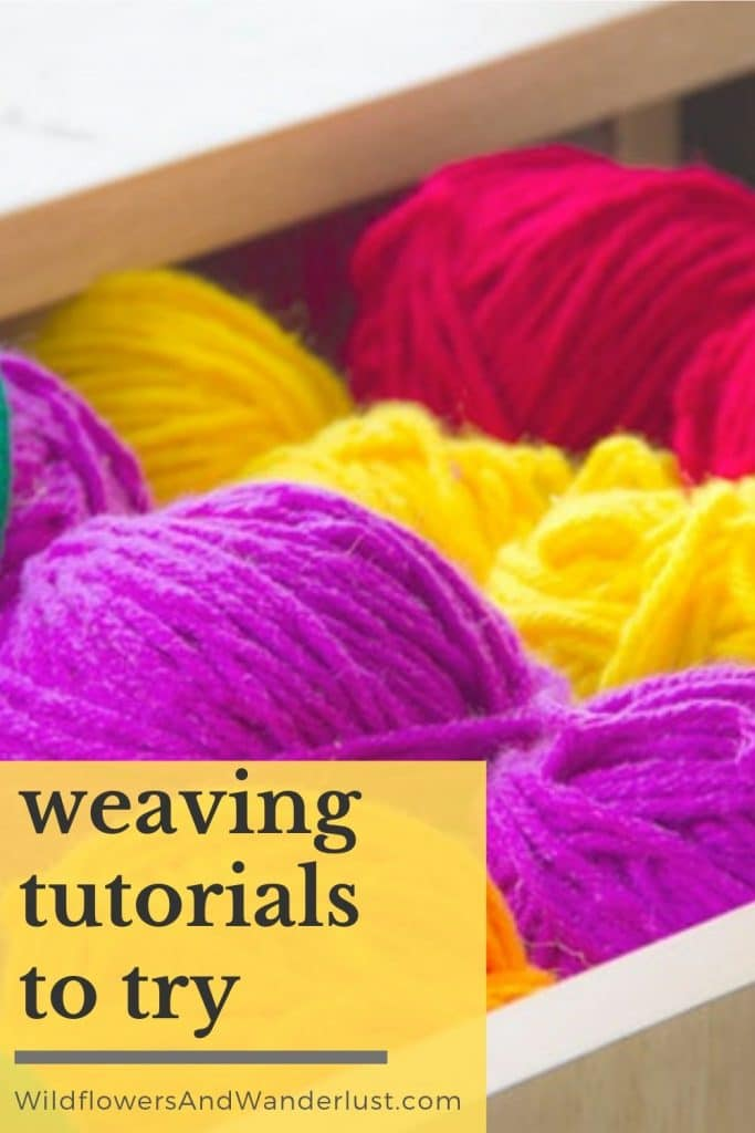 All the best weaving tutorials for beginners. Check them out here and get started on your DIY WildflowersAndWanderlust.com