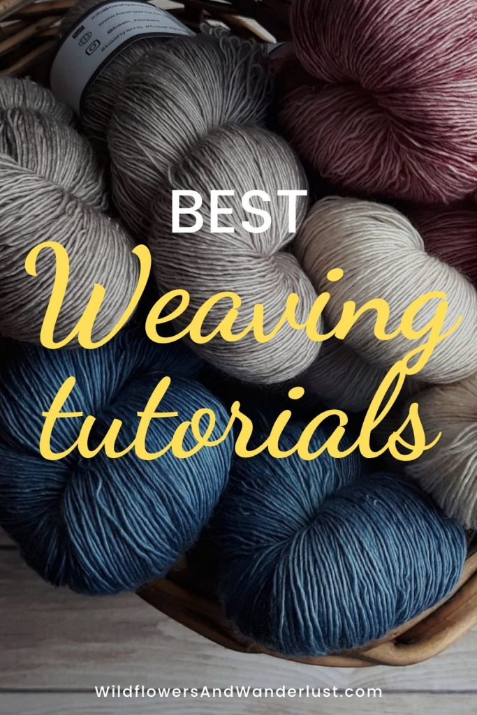 The best weaving tutorials to get your started on your DIY project. These have materials lists, photos and lots of information. WildflowersAndWanderlust.com