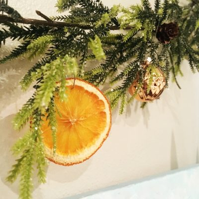 Aromatic Dried Orange Slices that you can Easily DIY