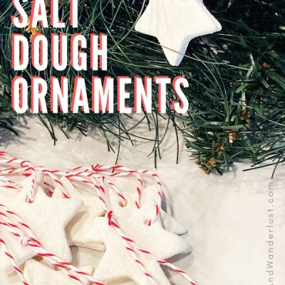 Quick and Easy White Salt Dough Ornaments
