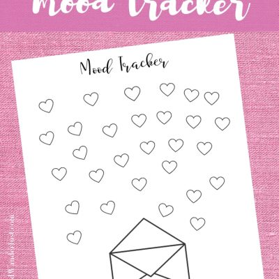 Why You Should Use a Mood Tracker – and a free printable