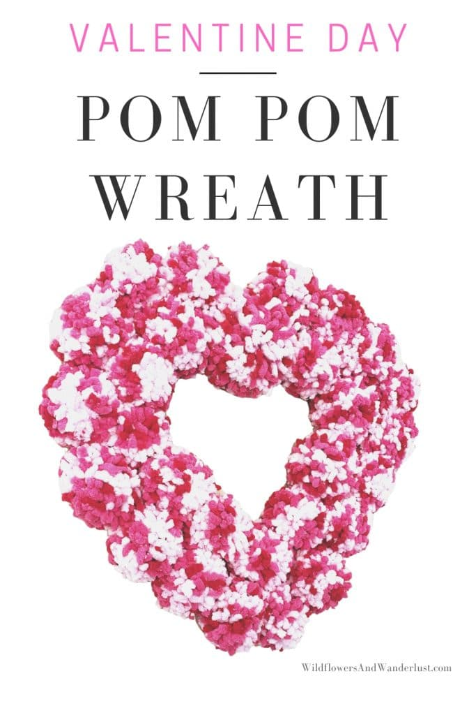 Pom poms are a fun and colorful way to decorate for any holiday. WildflowersAndWanderlust.com