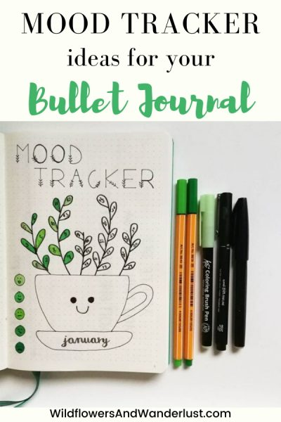 Lots of great mood tracker ideas to inspire your planner WildflowersAndWanderlust.com