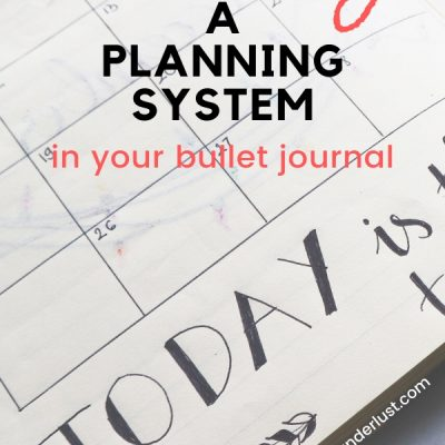 Why your journal isn't just a journal – it's a great planning system.
