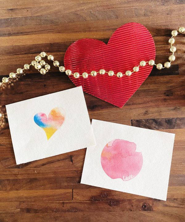 We love these watercolor prints for Valentine's Day or any other day WildflowersAndWanderlust.com