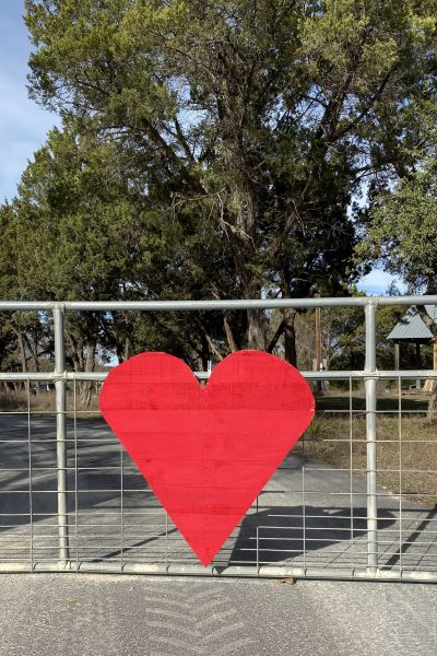 Now we have a pretty heart for our front gate WildflowersAndWanderlust.com