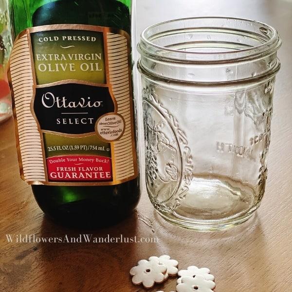 You only need a few supplies to make a mason jar lamp WildflowersAndWanderlust.com