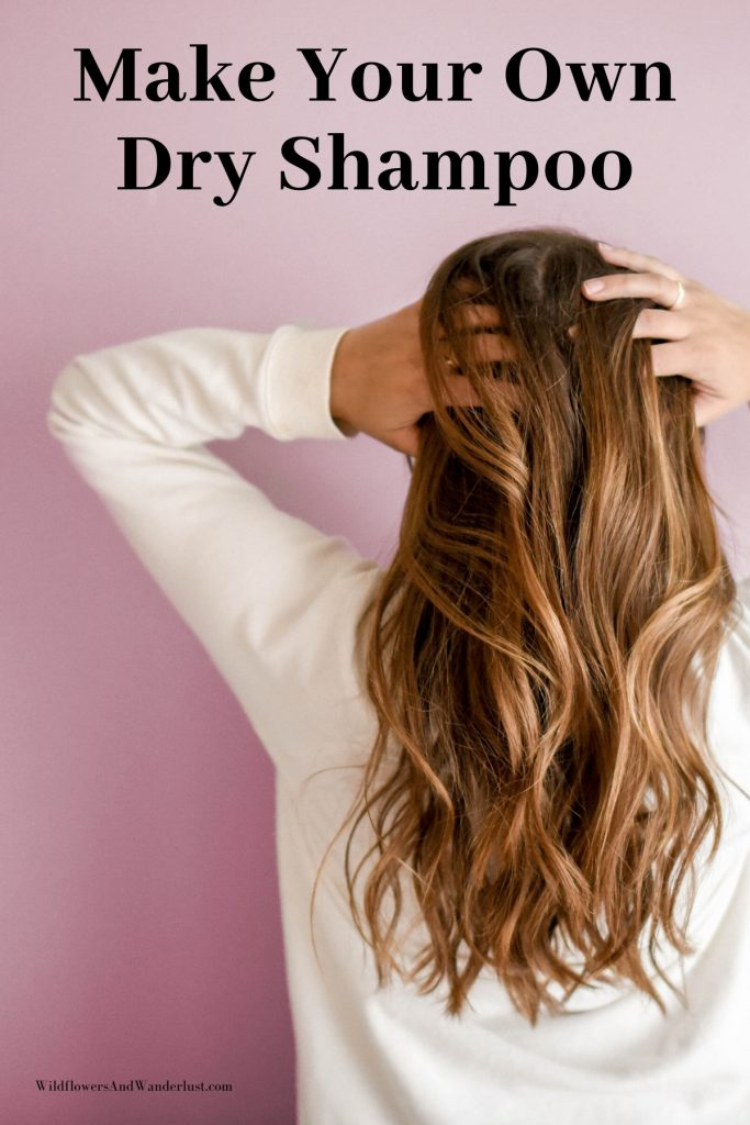 DIY dry shampoo with ingredients you have in your kitchen - WildflowersAndWanderlust.com