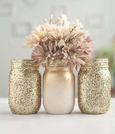 Spring Mason Jar Crafts that you can easily DIY WildflowersAndWanderlust.com