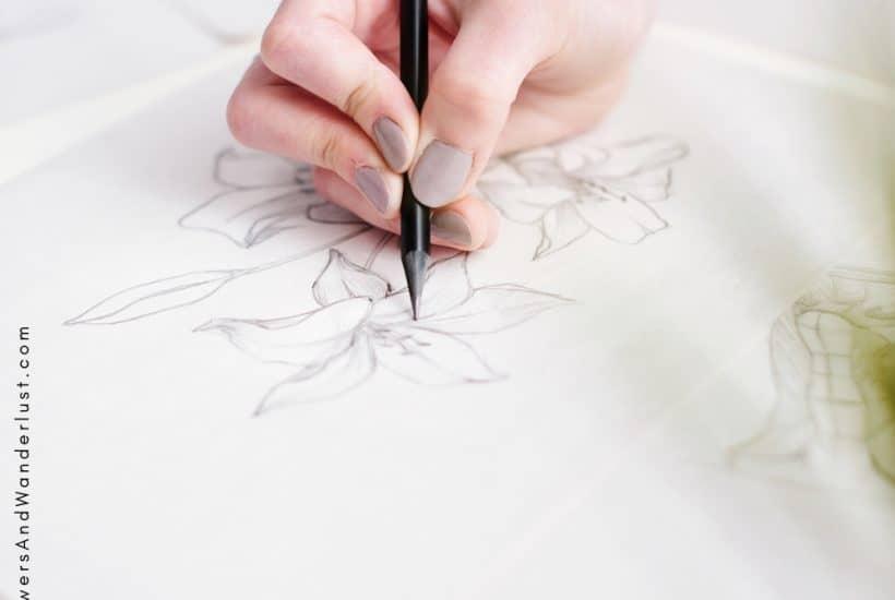 6 ways to transfer an image so you can create a new piece of art WildflowersAndWanderlust.com
