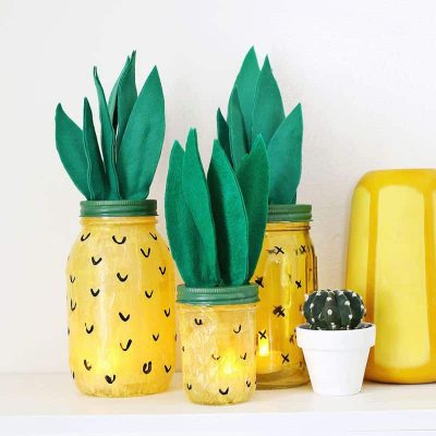 Easy DIY Pineapple Crafts for Your Home