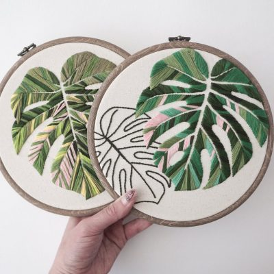 Amazing Plant Embroidery Projects for the Crazy Plant Lady's