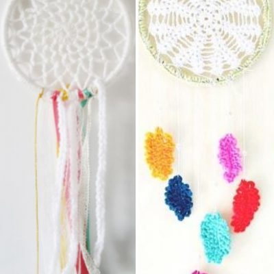 7 Free and Easy Crochet Dreamcatcher Patterns