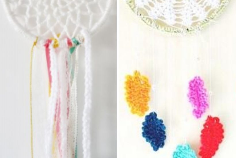 All the fun, free and easy crochet dreamcatcher patterns you could want. WildflowersAndWanderlust.com